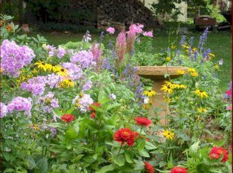 Small Flower Garden Idea
