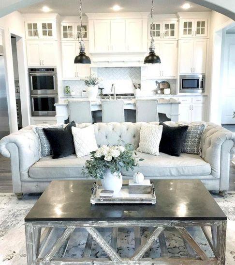 Small Open Kitchen Living Room Design Ideas