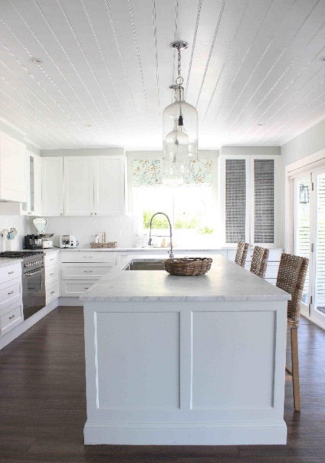 Hampton Home Design Ideas: Hamptons Style White Kitchen Ideas