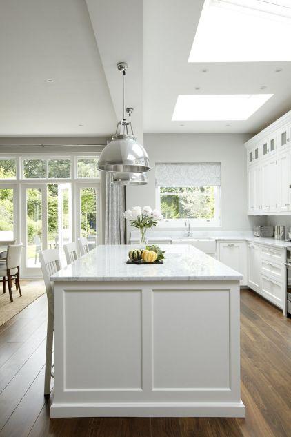 Hamptons White Kitchens Style