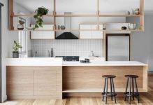 Hanging Kitchen Shelf Design