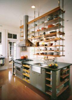 Hanging Open Shelving Kitchen Shelves