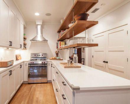 Kitchen Cabinet Hanging Shelves
