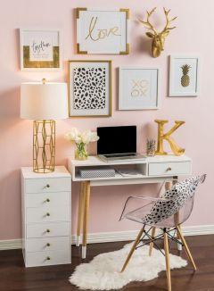 Beautiful Home Office Design 113