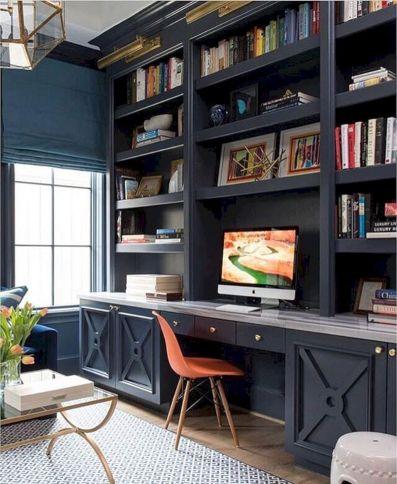 Beautiful Home Office Design 118