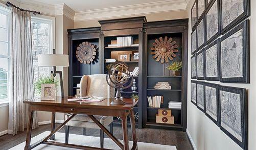 Beautiful Home Office Design 15