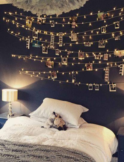 Fairy Light Bedroom Wal