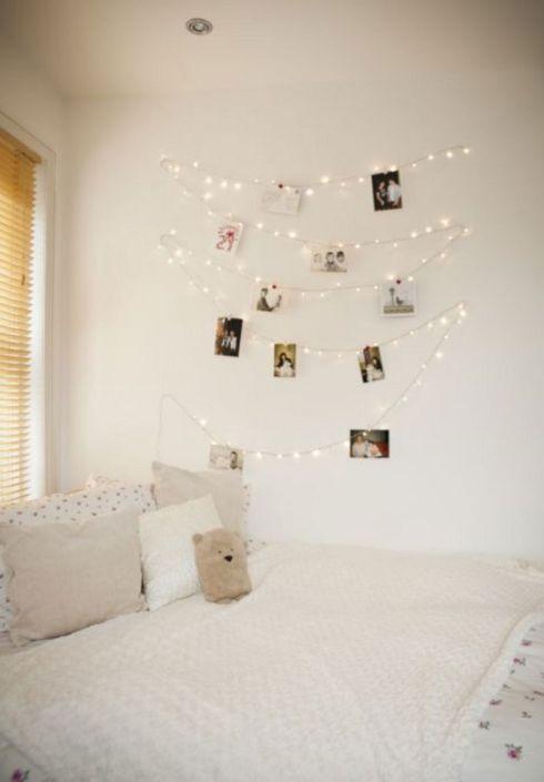 Fairy Lights Bedroom Design