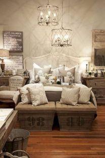 Rustic Farmhouse Style Master Bedroom Ideas 16