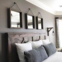 Rustic Farmhouse Style Master Bedroom Ideas 39