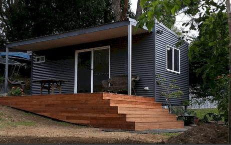 Backyard Office Pod Glides