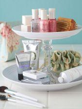 Bathroom Organization DIY Storage Idea