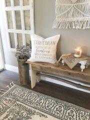 Beautiful Farmhemian Decorating Ideas 128