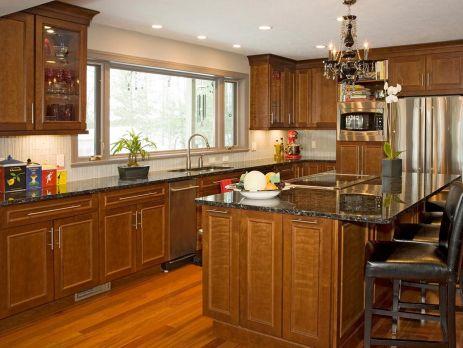 Cherry Cabinet Kitchen Designs