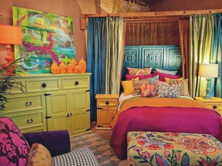 Colorful Bedroom Decor