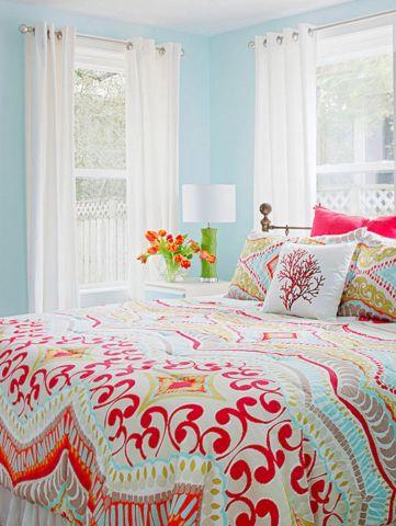 Colorful Bedroom Design Ideas