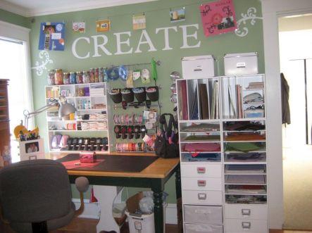 Craft Room Shelves Ideas