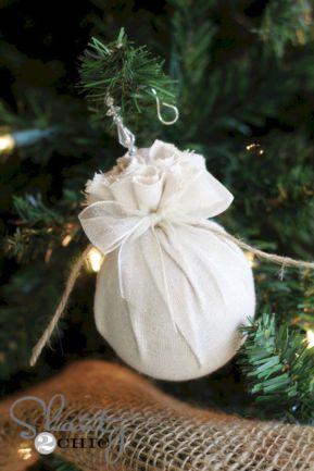 DIY Fabric Christmas Ornament