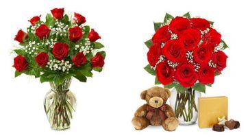 Flower Valentine Floral Arrangements
