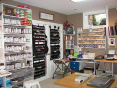 Home Craft Room Storage Ideas