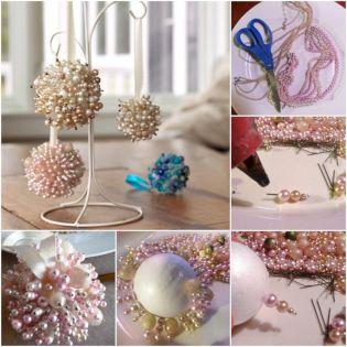 Homemade Christmas Ball Ornaments Ideas