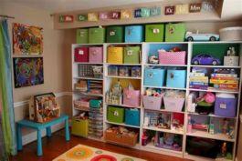 Kids Toy Storage Design Idea
