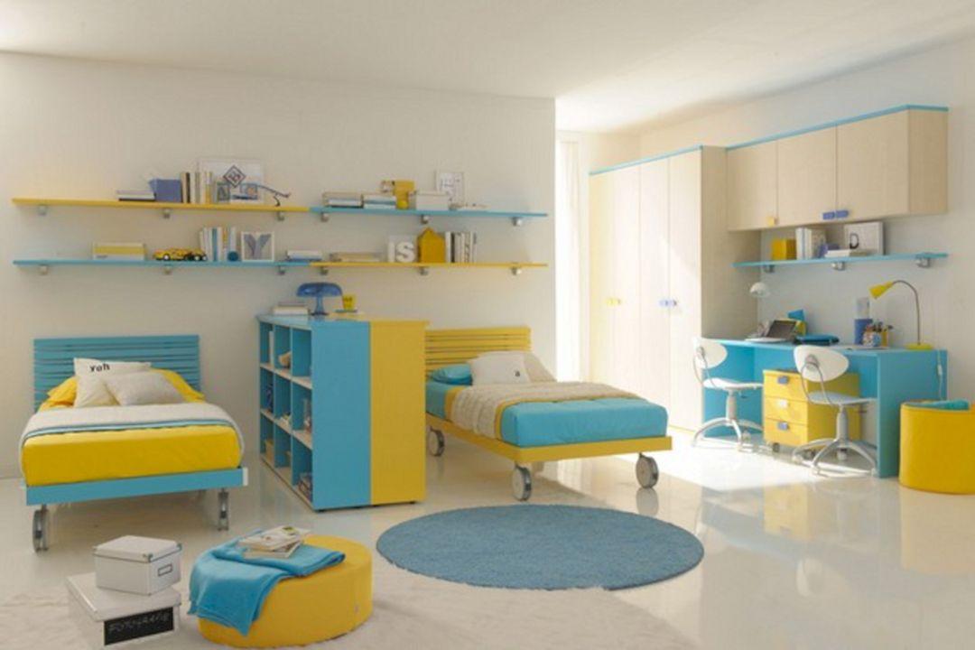 Kids Twin Bedroom Idea