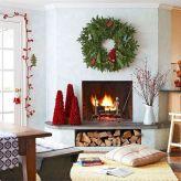 Living Room Christmas Decoration Design Ideas