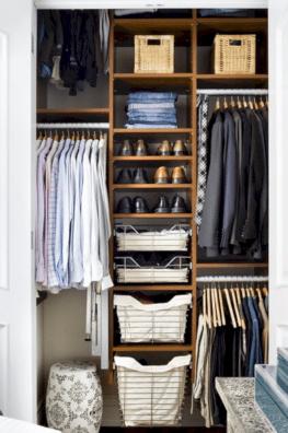 Men Closet Organization Ideas