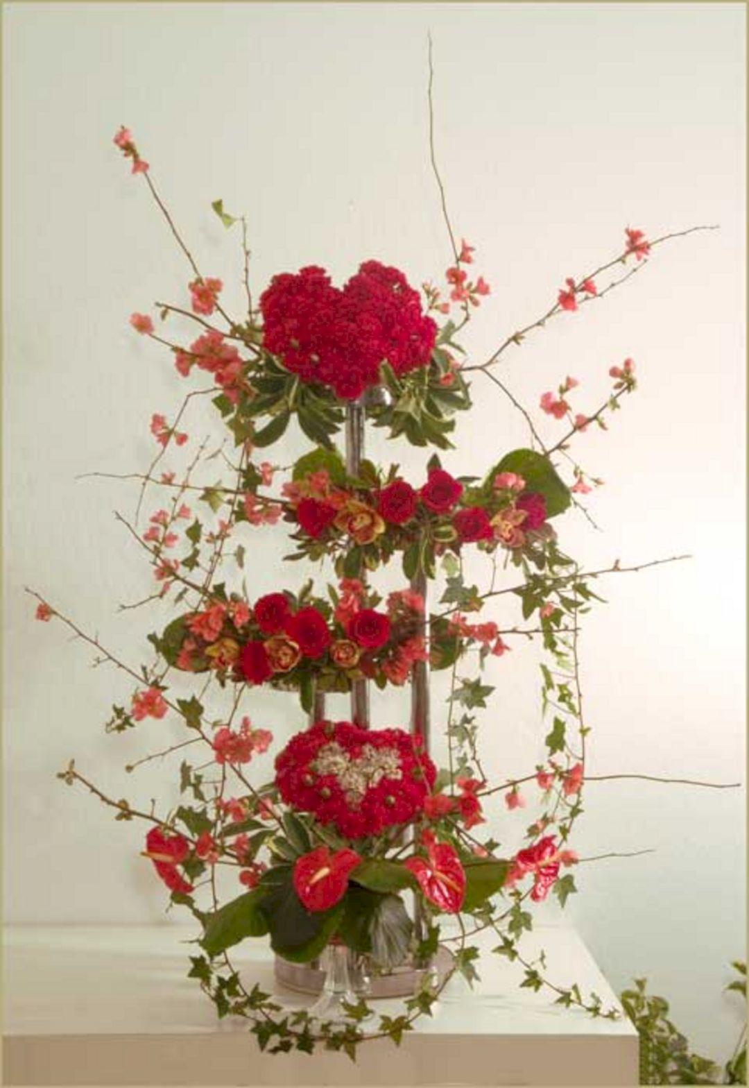 Valentine Flower Arrangements Ideas   Valentine Floral Arrangements