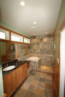 Bathroom Shower and Soaking Tub