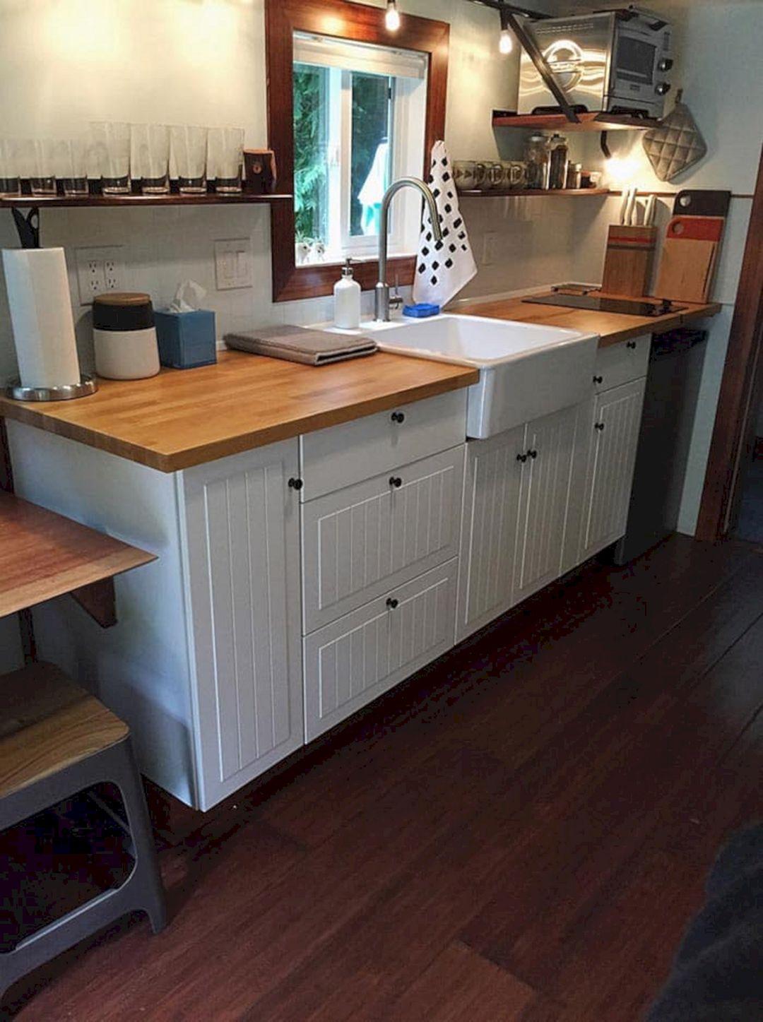 Great Beautiful Tiny House Kitchen