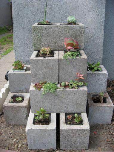 Cinder Block Garden Design Ideas