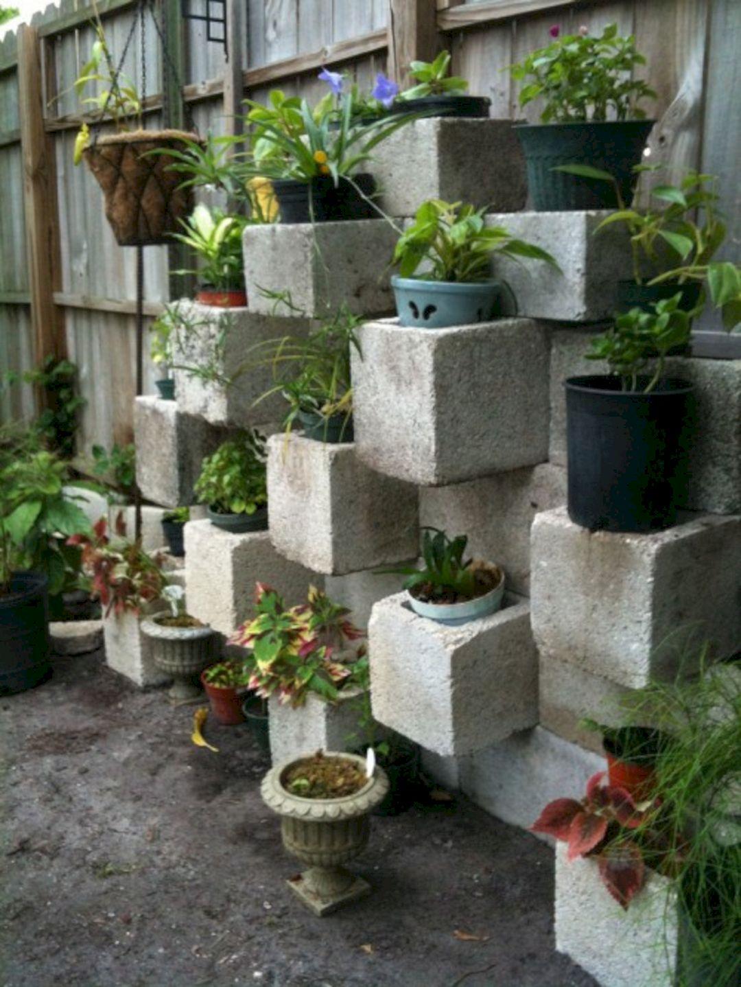 cinder block garden idea - Cinder Block Garden Ideas