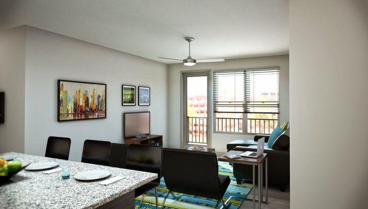 College Apartment Decorating Idea