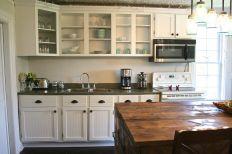 DIY Kitchen Cabinet Door Makeover