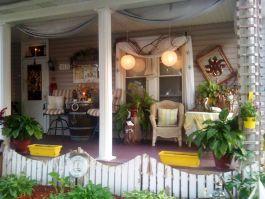 Front Porch Decorating Design Idea