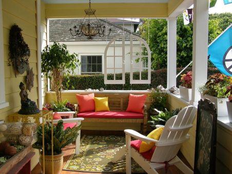 Front Porch Decorating Idea