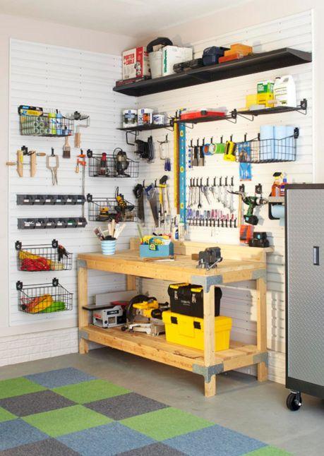 Garage Tool Organization Ideas