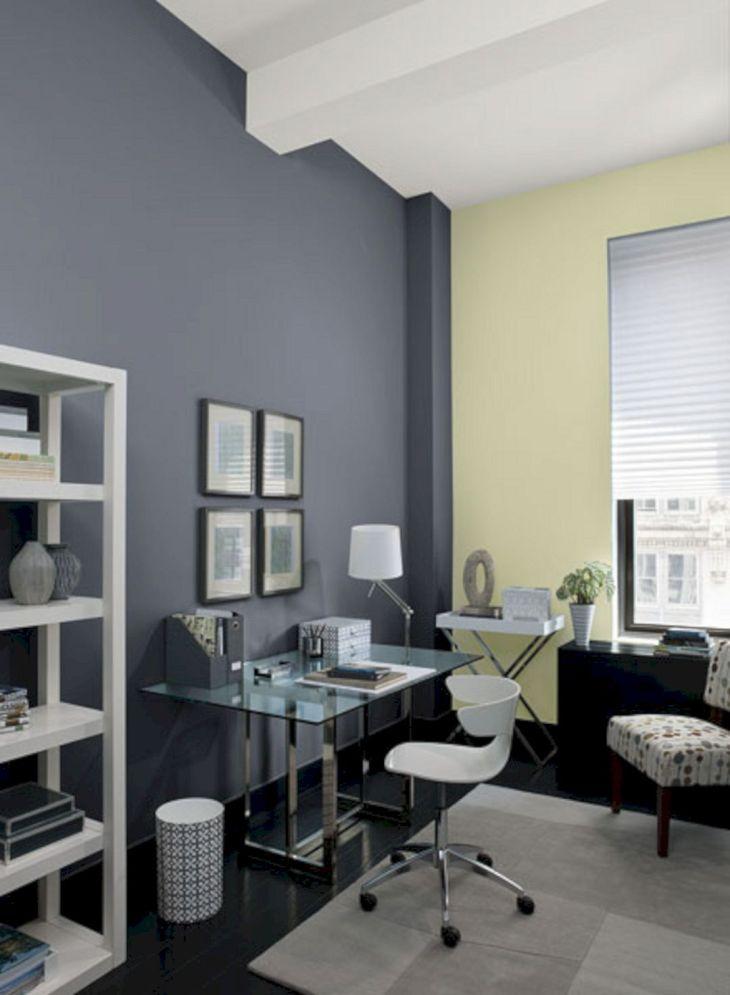 Home Office Colors Benjamin Moore Gray Ideas
