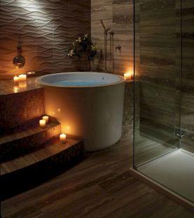 Japanese Soaking Tub Bathroom Design