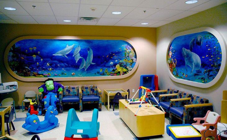 Kids Playroom Decorating Idea