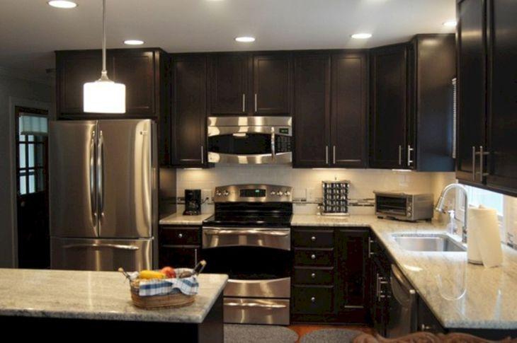 Kitchen Remodel with Dark Cabinets