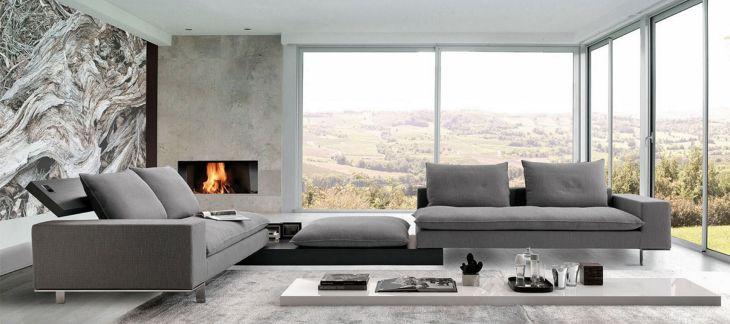 Modern Italian Sectional Sofa