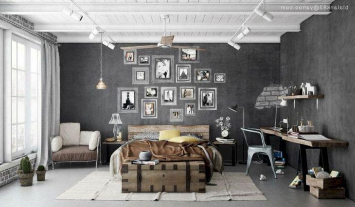 Modern Rustic Bedroom Design Ideas