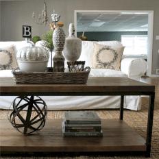 Modern Rustic Home Decor Idea