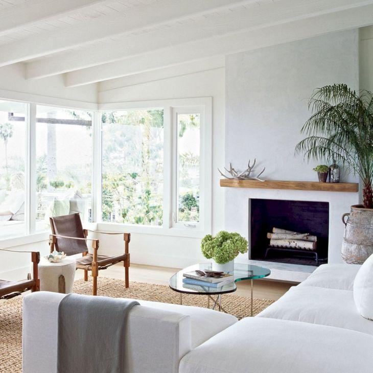 Modern Rustic Living Room Coastal
