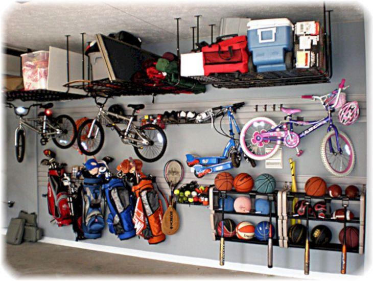 Organizing Garage Storage Idea