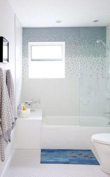 Penny Round Tile Bathroom Floor
