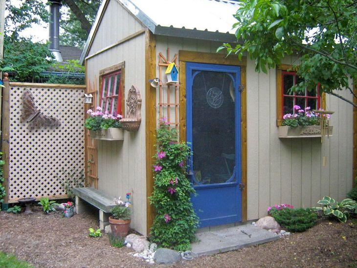 Romantic Garden Sheds